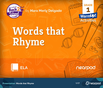Words that Rhyme