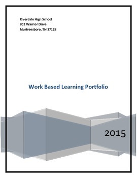 Work Based Learning Module For Classroom Component