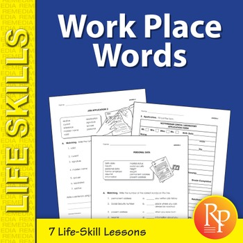 Work Place Words