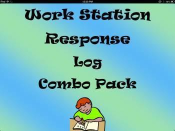 Work Station Response Log Combo Pack