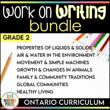 Work on Writing - Grade 2 Ontario Curriculum