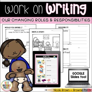 Work on Writing - Our Changing Roles and Responsibilities
