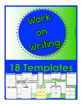 Work on Writing - Templates