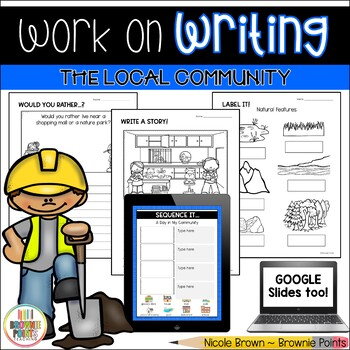 Work on Writing - The Local Community