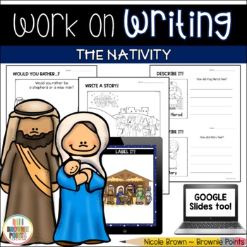 Work on Writing - The Nativity