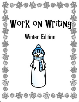 Work on Writing (Winter Edition)