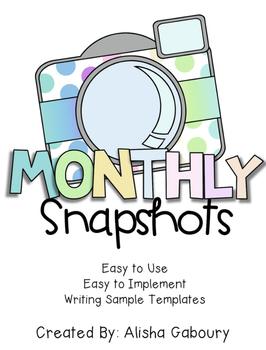 Work on Writing: Writing Sample Snapshots
