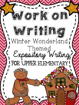 Work on Writing for Upper Elementary: Expository {WINTER W