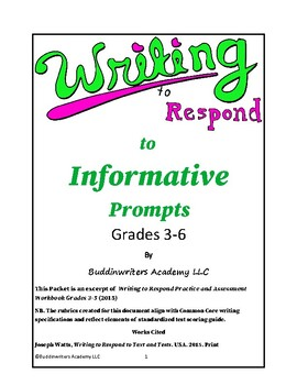Workbook for Implementing WTR with Grades 3-5 Students