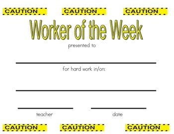 Worker of the Week