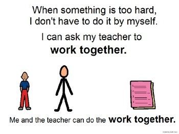Working Together - Student and Teacher