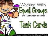 Working With Equal Groups (Even & Odd Numbers and Arrays )