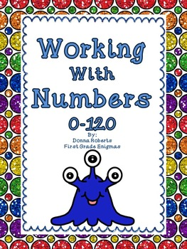 Working With Numbers 0-120 Common Core State Standards lis