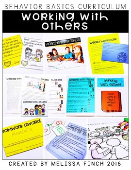 Working With Others- Behavior Basics Program for Special E