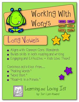 Working With Words - Long Vowels