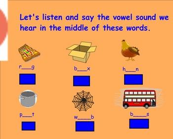 Working With Words SMART notebook for Grade 2 Treasures U1.2