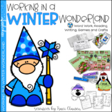 Winter Activities - Writing and Reading Lessons - Working