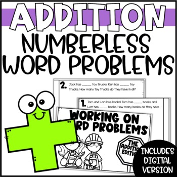 Working on Word Problems: One-Step Addition