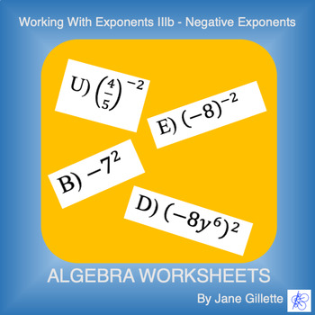 Working with Exponents IIb