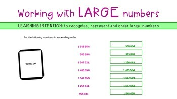 Working with Large Numbers