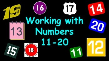 Working with Numbers: 11-20