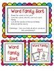 Working with Short u Word Families CVC center activities a