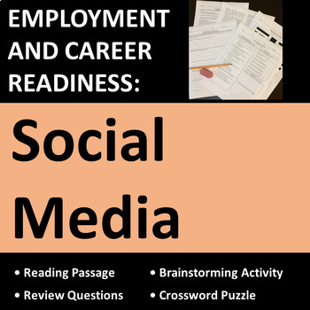 Employment & Career Readiness, Social Media Activities
