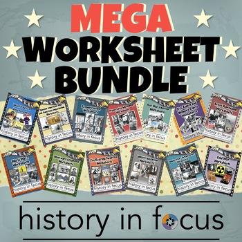 Worksheet Mega Bundle