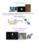 Worksheet/Test on Formation of the Universe Vocabulary