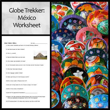 Worksheet for Globe Trekker Video on Mexico