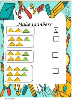 Worksheets Numbers 1 to 20