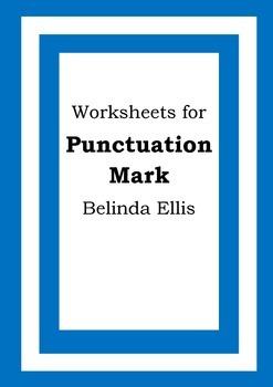 Worksheets for PUNCTUATION MARK - Belinda Ellis - Picture