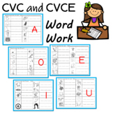 CVC Words and Sneaky E Words (Silent e)