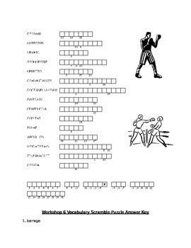 Workshop 6 (Amigo Brothers) Complete Lesson Bundle