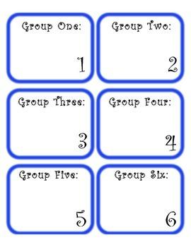 Workstation Group Cards