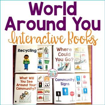World Around You Interactive Books (Life Skills for Specia