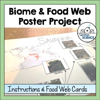 World Biomes Activity & Poster Project: Habitats & Food Webs