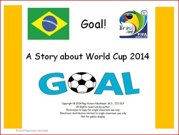 World Cup 2014 Freebie: An Interactive, Adapted story