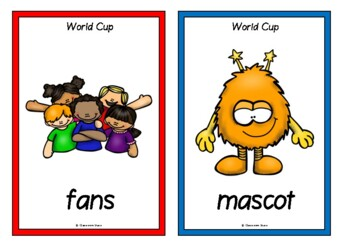 World Cup Picture Cards