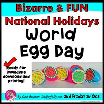 World Egg Day (October 14th)