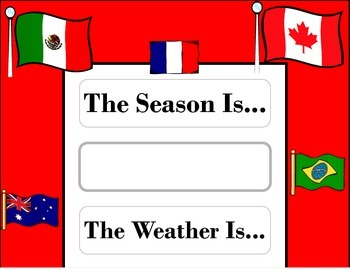 World Flags Weather Chart! World Flags Bulletin Board! Wor