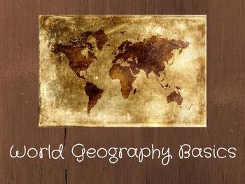 World Geography Basics