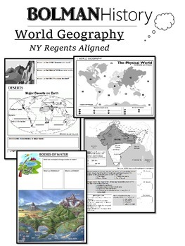 World Geography (Global History - NYS Regents Aligned)