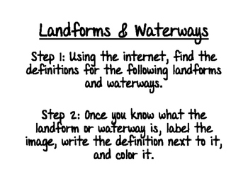 World Geography: Landforms & Waterways