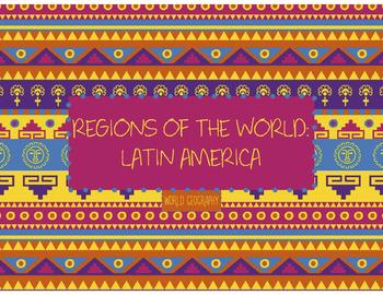 World Geography: Latin America PowerPoint