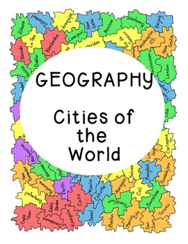 World Geography Research Cities Continents PDF Digital Soc