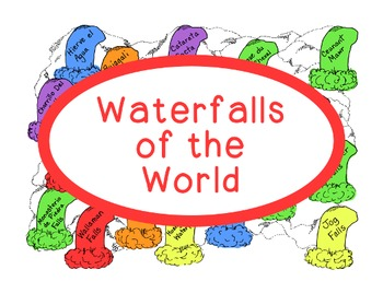 World Geography Research Waterfalls Continents PDF Social