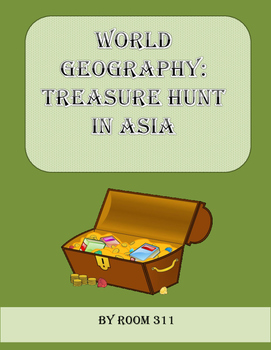 World Geography: Treasure Hunt in Asia