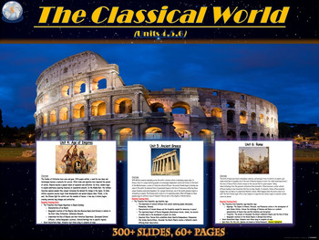 *Updated*Classical Mega Unit: Greece, Rome, and Ancient Empires