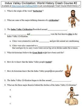 World History Crash Course #2 (Indus Valley Civilization)